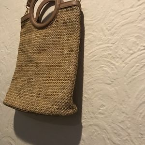 Studio33 Bags - Studio33 Natural Straw Crossbody Bag